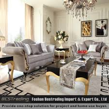 Fabric Sofa Set Luxury European Style Classic Fabric Sofa Set Foshan Furniture