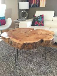 Tree Stump Side Table Tree Stump Coffee Table Daprafazer Co
