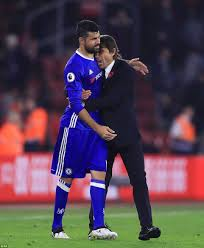chelsea costa diego chelsea news diego costa and antonio conte make peace daily mail