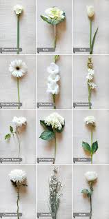wedding flower guide