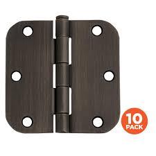 nickel door hinges door knobs u0026 hardware the home depot