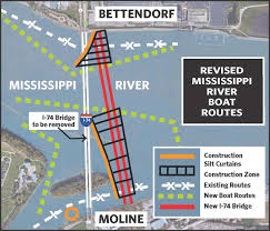 Moline Illinois Map by River Changes Start Monday For I 74 Bridge Work Local Qconline Com