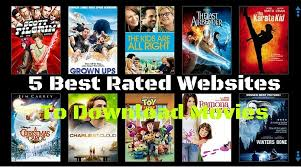 5 best rated websites to download movies