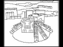 minecraft coloring pages ramsay bday