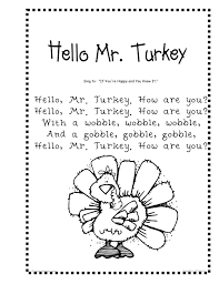 preschool thanksgiving placemats poems pictures to pin