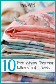 Free Curtain Sewing Patterns 154 Best Sewing Decorative Curtains Images On Pinterest