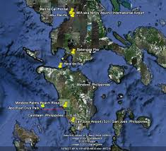 san jose mindoro map how to get to the palms the palms resort philippines