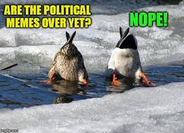 Nope Meme - are the political memes over yet nope meme
