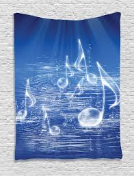 wall hanging tapestry music nautical melody artwork home decor ebay