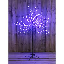 5 ft led blue berry tree outdoor or indoor use 371019 ideal world