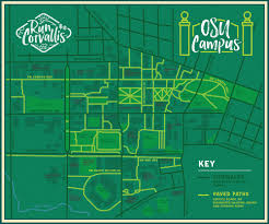 Campus Map Oregon State by Osu Campus U2014 Five Star Sports