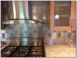 Stick On Metallic Tile Backsplash Tiles  Home Design Ideas - Backsplash stick on