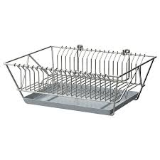 Kitchen Cabinet Dish Rack Furniture Home Flundra Dish Drainer White Pe S Corirae