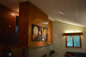 Lights In Soffit Outside by The House On Rynkus Hill Restoring The Mid Century House That My