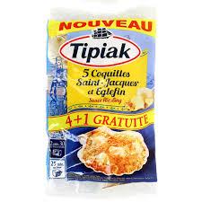cuisiner les coquilles st jacques surgel s tipiak 5 coquilles jacques et eglefin sauce au riesling 5x90g