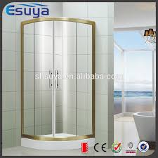 hexagon shower enclosure stainless steel aluminum door shower
