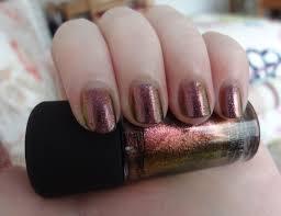 mac mean u0026 green nail polish review through the looking glass
