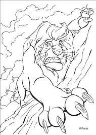 drawings lion king kids coloring