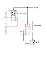 passive overdrive circuit wiring diagram for j talkbass com
