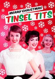 tinsel funny christmas card 2 99 laura jayson mason