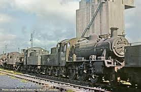 Overhead Door 65b by David Heys Steam Diesel Photo Collection 28 Br London Midland 2