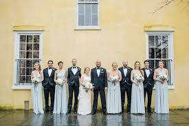 blue gray bridesmaid dresses blue gray bridesmaid dresses traditional black groomsmen tuxedos