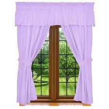 clara clark 5 piece window curtain cozy array