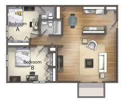 3 bedroom floor plan 1 2 3 bedroom cus student housing in kent oh