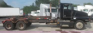 kenworth bed truck 1994 kenworth t600 roll off truck item l3516 sold septe
