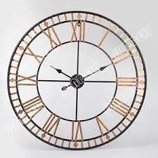 large wall clock large wall clock 80cm bertha metal industrial big vintage french