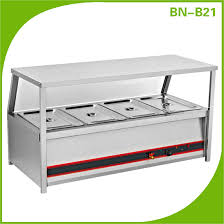 electric table top steam table catering buffet service equipment table top stainless steel food