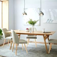 mid century modern expandable dining table review extendable west