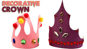 diy crown kids art and craft diy videos for kids king and