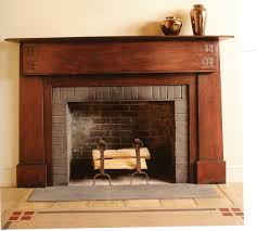Craftsman Carpet Fireplace Charming Living Room Design With Interesting Fireplace
