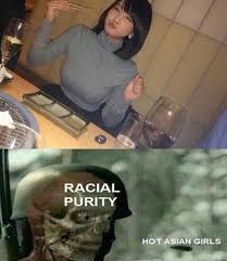 Asian Girls Meme - the hermit trash strikes again