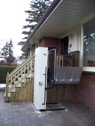 alberta porch lift ramp funding cold weather test serenity