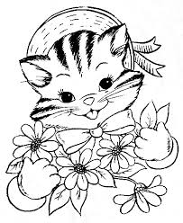 kitten coloring pages to print 35 best and free kitten coloring pages gianfreda net
