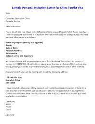 noc letter template sample of invitation letter for china tourist visa sample personal letter format how to write personal letter templates