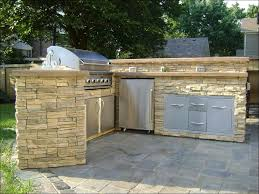 kitchen built in grill island outdoor kitchen and fireplace