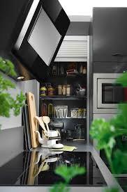 contemporary kitchen laminate u shaped high gloss ambiance