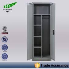 tall narrow storage cabinet luoyang factory steel material 2 door key locker tall narrow storage