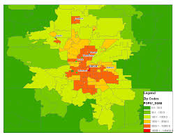 Map Of Atlanta Area by Segregations New Geography The Atlanta Metro Region Race And