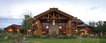 rustic luxury homes home design
