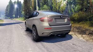 cars bmw x6 x6 m v2 0 for spin tires