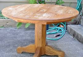 stained table top painted legs how to refinish a farmhouse table when you have absolutely no idea