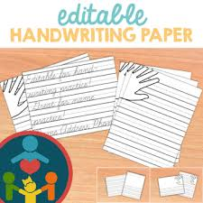 printable lined paper editable editable lined paper teaching resources teachers pay teachers