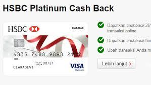 persyaratan buat kartu kredit hsbc daftar penyedia kartu kredit cashback terbesar dari berbagai bank