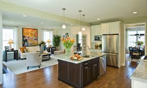 Kitchen Great Room Designs Tag For Open Kitchen Great Room Floor Plans With Wood Peak