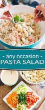 pasta salda any occasion pasta salad u2022 the healthy foodie