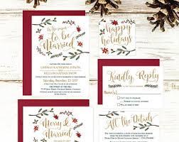 wedding invitations sets wedding invitation kits etsy
